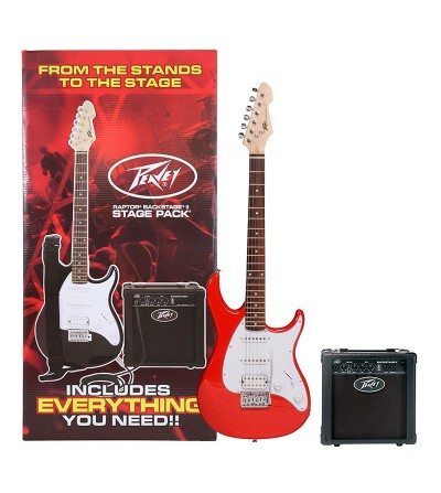 PACK PEAVEY RAPTOR PLUS JR STAGE PACK RED W/ AUDITION