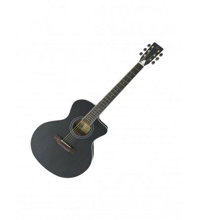 Guitarra electroacústica Garrido Gospel CE BLK