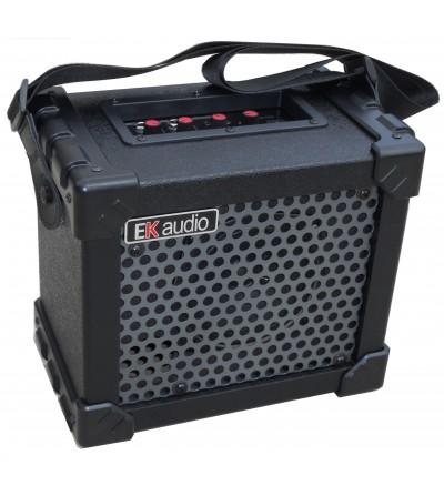 Amplificador de guitarra acústica portátil EK AUDIO AG10A. 10W
