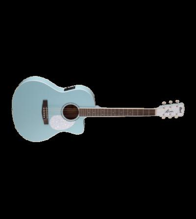 CORT Guitarra electroacustica de 6 cuerdas con cutaway JADE CLASSIC SKY BLUE OP