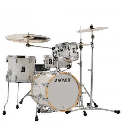 SONOR SET AQ2 BOP WHITE PEARL