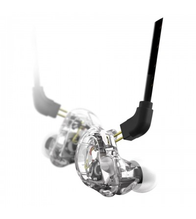 Stagg SPM-235 TR. Auriculares in-ear transparentes
