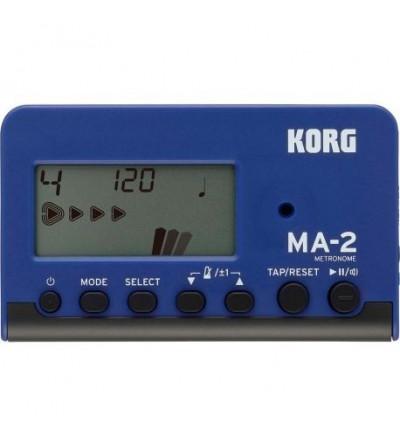 KORG Metrónomo digital MA-2 BLBK.