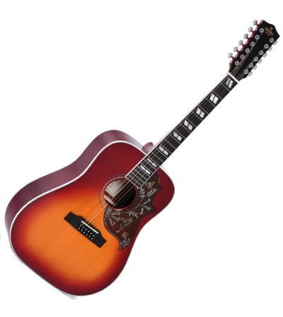 Guitarra electroacustica Sigma DM12-SG5 12 cuerdas