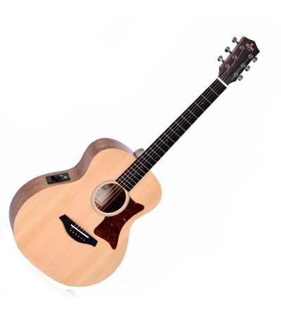 Guitarra electroacustica Sigma GSME escala corta