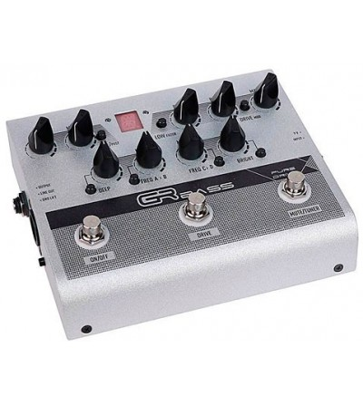 GR BASS PURE DRIVE PEDAL...