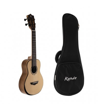 Kunde Moon Eclipse 26. Ukelele tenor con funda