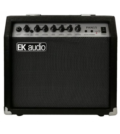 AMPLIFICADOR DE GUITARRA EK AUDIO PAN15. 15W