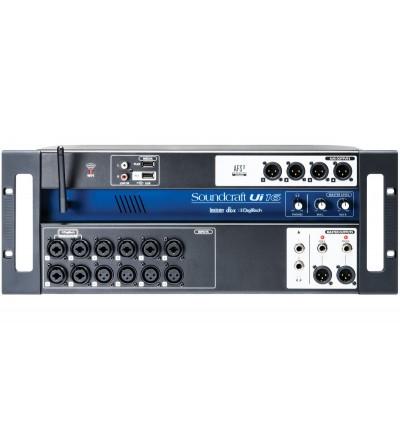Soundcraft IU-16. Sistema compacto de Mezcla Digital 16 entradas con control Wi-Fi