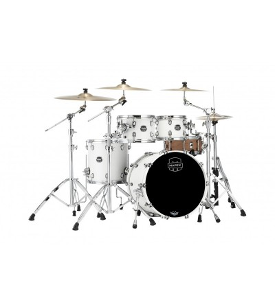 BATERIA MAPEX SATURN RENEW SR504XRM.BLANCO SATIN Serie Saturn Renew 2020