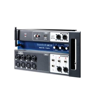 Soundcraft IU-12. Sistema compacto de Mezcla Digital 16 entradas con control Wi-Fi