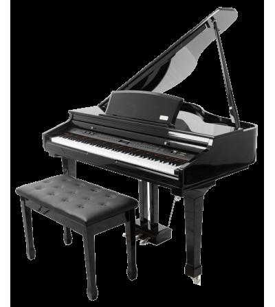 Piano de cola digital Artesia AG50. 88 Teclas Hammer