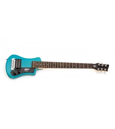 "Guitarra ""Höfner"" Shorty Azul"