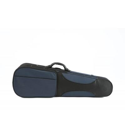 "Estuche violín-viola 4/4-14"" Rapsody Forma CSV002A azul/negro"