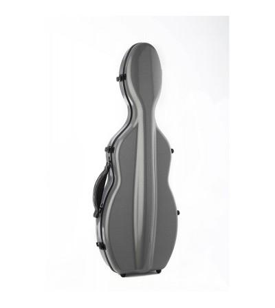 Estuche violín 4/4 Rapsody Rocket 3D forma gris 3D