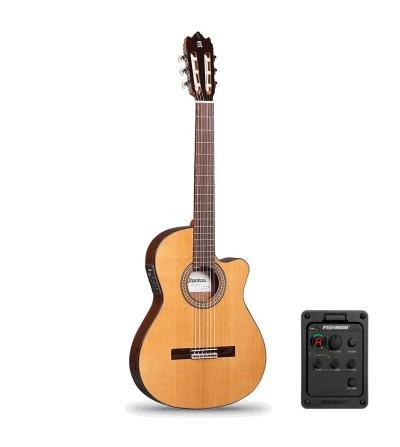 Guitarra clásica Alhambra 3 C CT-E1