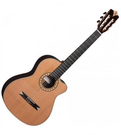 Guitarra clásica electrificada Alhambra CS-3 CW E8 Crossover
