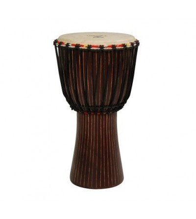 DJEMBE TYCOON HAND-CARVED...