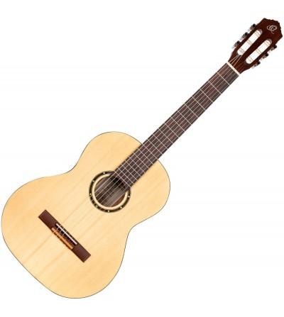 ORTEGA Guitarra clásica 4/4 R55 Solid Top.