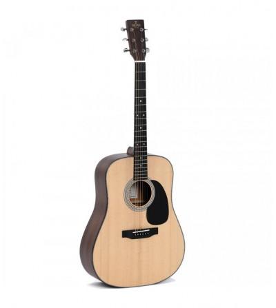 Guitarra Acústica Electrificada Sigma SDM-STE.