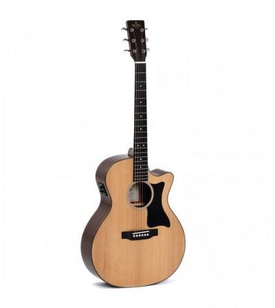 SIGMA GMC-1E. Guitarra Acústica Electrificada de Serie 1 con previos Fishman Presys I