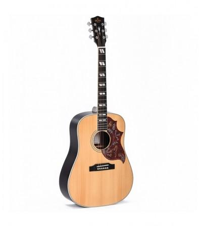 Guitarra acústica Sigma SDR-SG5 con funda SSD